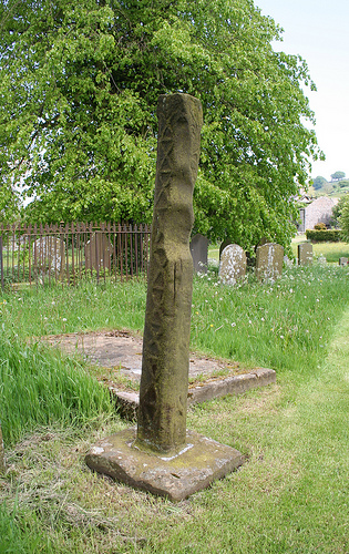 Old Wayside Cross - moved