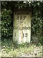 TF0548 : Old Milepost by MW Hallett
