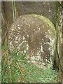 SE1343 : Old Boundary Marker near Horncliffe Well, Burley Moor by Milestone Society