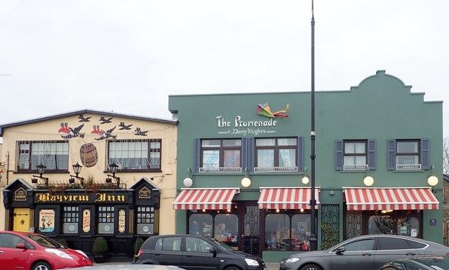 Bay view Inn and the Promenade at Danny Hughes