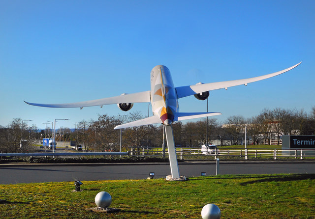 Aircraft on the Roundabout
