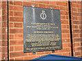 TM3034 : Memorial on Felixstowe Town Hall by Adrian S Pye