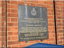TM3034 : Memorial on Felixstowe Town Hall by Adrian S Pye