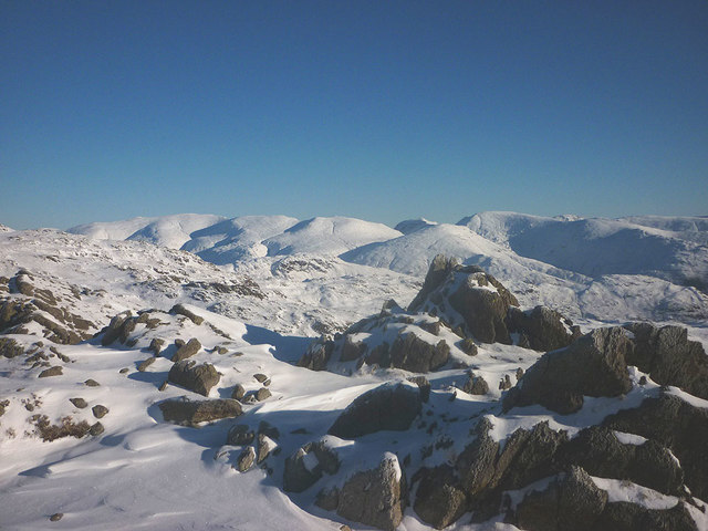 On top of the world (Pavey Ark at least!)