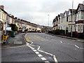 ST3289 : Caerleon Road towards the M4 motorway, Newport by Jaggery