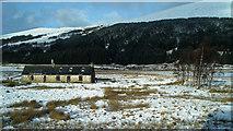 NH1455 : Towards Inver Croft House Mountaineering Hut by Julian Paren
