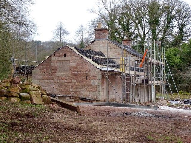 Renovation at Crumpwood Cottage