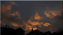 SX9065 : Clouds over Torre by Derek Harper