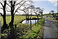 H4582 : Pond along Farburn Road, Eskeradooey by Kenneth  Allen