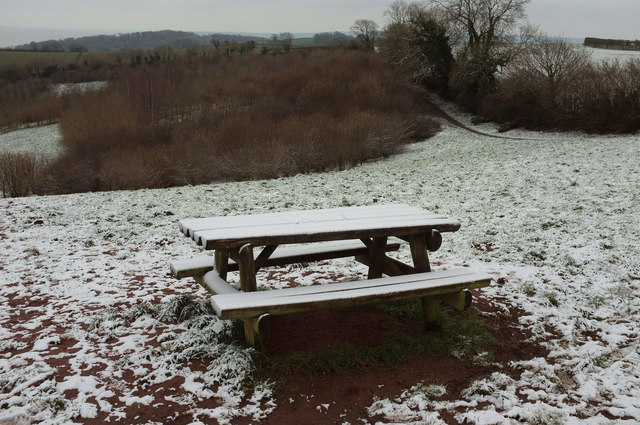 Picnic table, Gallows Gate