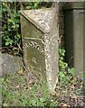 ST9122 : Old Milepost by M Faherty