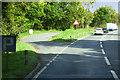 NX8473 : Layby on the A75 near Crocketford by David Dixon