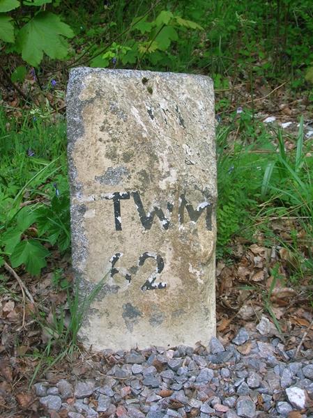 Old Milestone by the A82, Dochgarroch, Inverness parish by Milestone Society