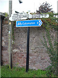 ST0310 : Old Direction Sign - Signpost by Milestone Society