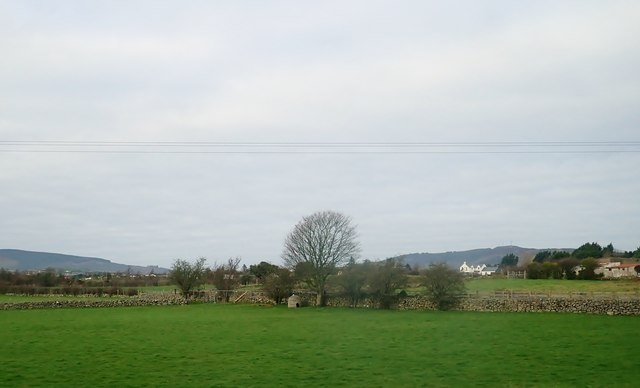 Farmland on the West side of the Dublin Road