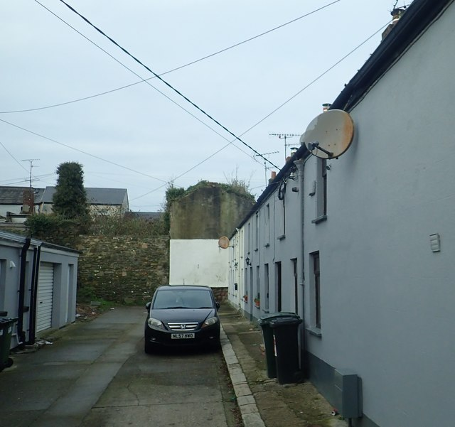 Meeting House Lane off Linen Hall Street, Dundalk