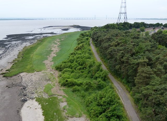 Path at Beachley Point