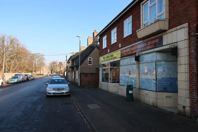 Closed shop, Little Downham