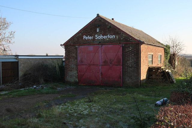 Peter Saberton workshop, Little Downham