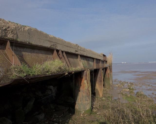 Former wharf near Barton