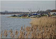 TA0423 : Sailing Club near Barton upon Humber by Paul Harrop