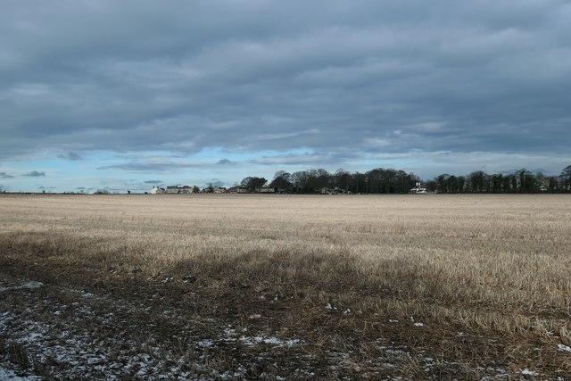 Dark clouds over Broad Axe field