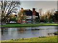 SJ9317 : Acton Trussell, The Moat and Moat House by David Dixon