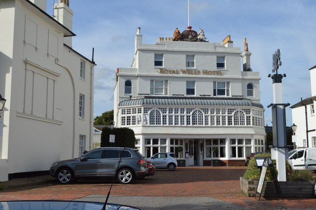 Royal Wells Hotel by N Chadwick