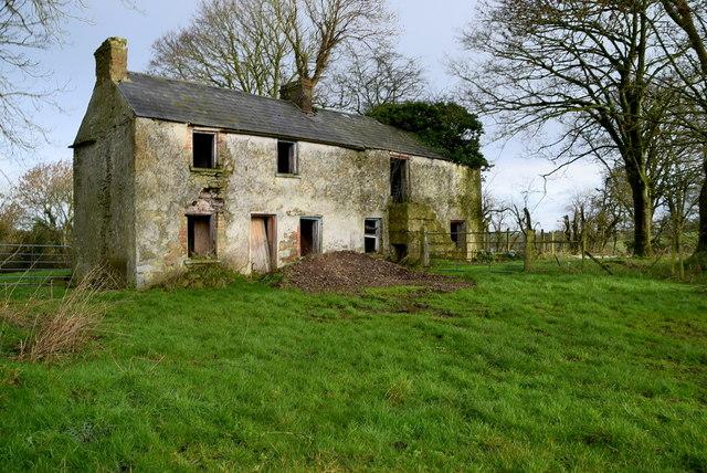 Abandoned farmhouse, Keady