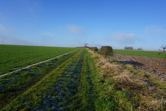 High Hunsley Circuit towards Hessleskew Lane