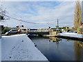 SE0941 : Approaching Morton swing bridge along the towpath by Stephen Craven