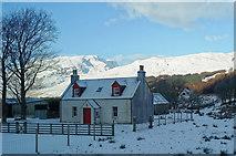 NG9543 : Croft house at Blackwood by Julian Paren