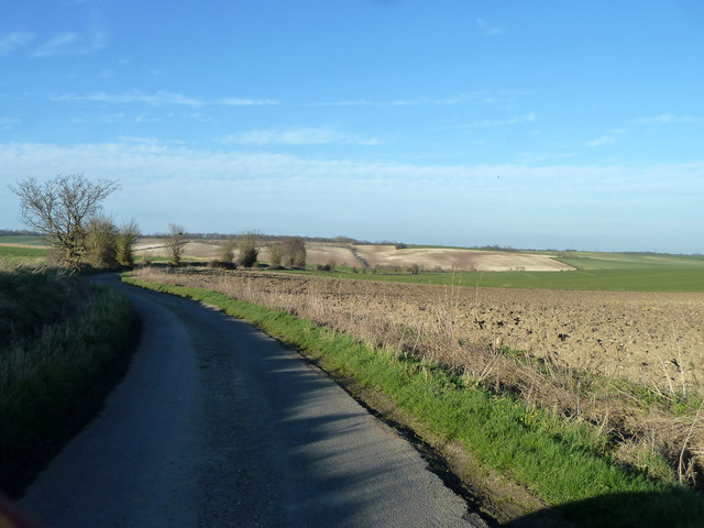 View north-east from Long Lane