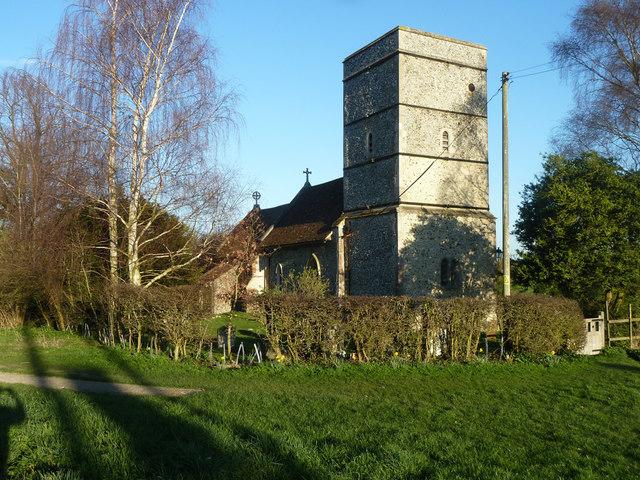 Strethall church
