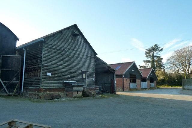 Barns, Strethall Hall Farm