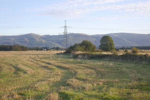 Stubble and the Ochils
