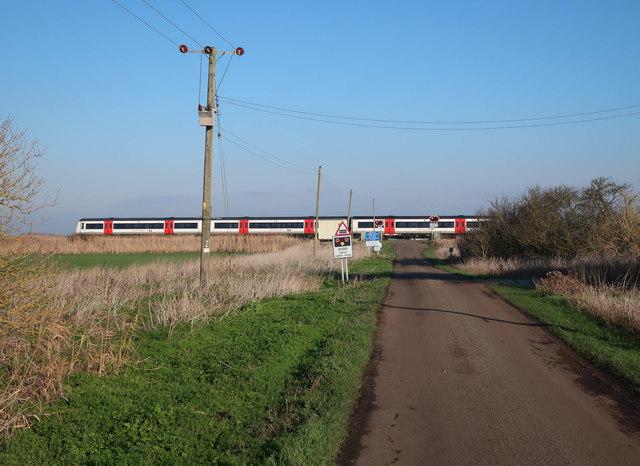 Greater Anglia train, North Fen