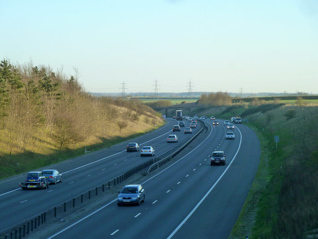 M11 looking south