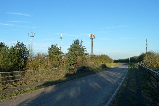 Telecommunications masts by M11