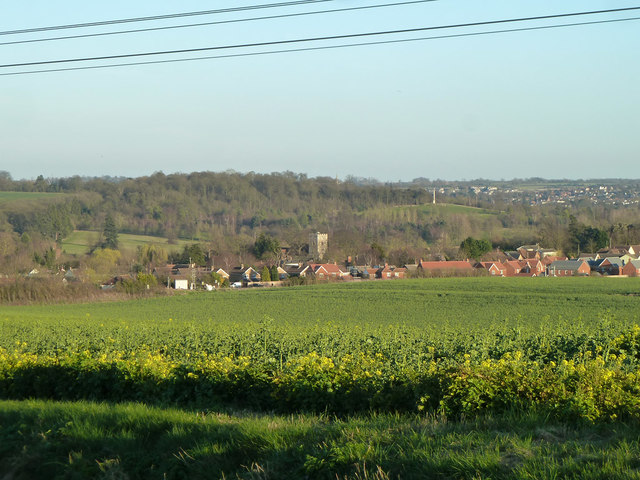 Littlebury from Strethall Road