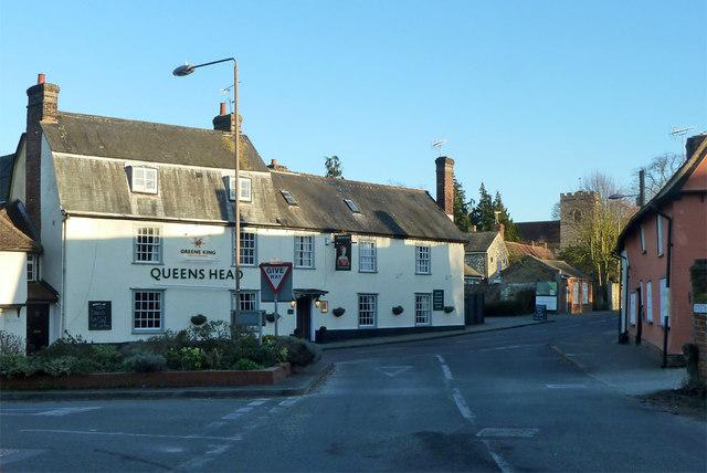 The Queens Head, Littlebury