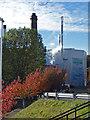 SP0483 : Birmingham University - boiler house by Chris Allen