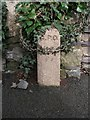 SH6167 : GPO cable marker on Bangor Road, Bethesda by Meirion