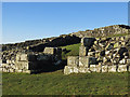 NY7166 : The southern gateway of Milecastle 42 (Cawfields) by Mike Quinn