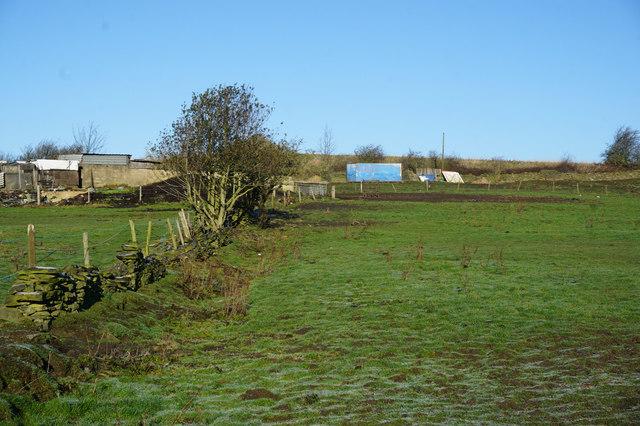 Kirklees Way near Heightlands Farm