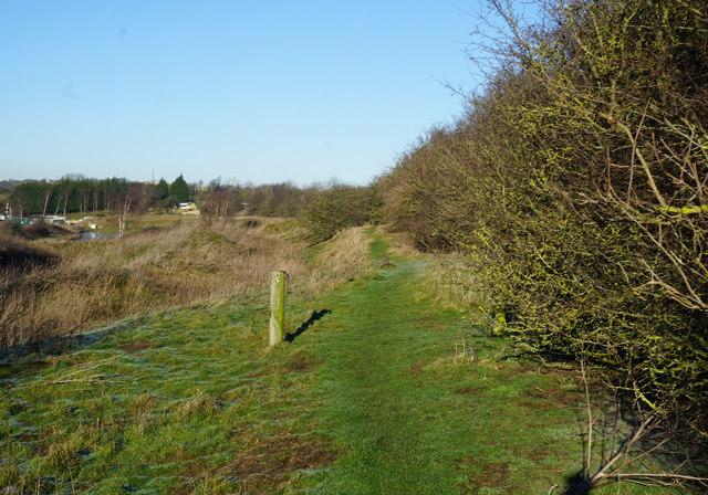 Kirklees Way towards Sunnybank Farm