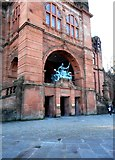 NS5666 : Rear entrance, Kelvingrove Art Gallery and Museum by Richard Sutcliffe