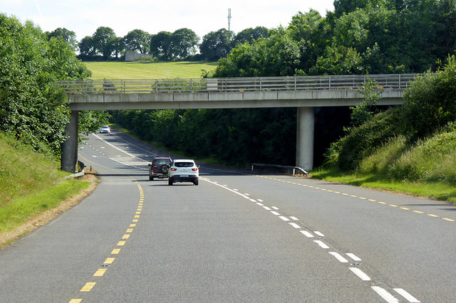 Bridge over the Youghal Bypass