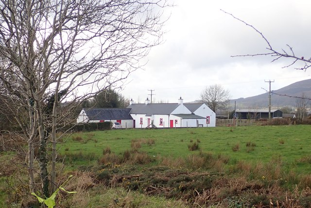 Traditional S Armagh Homestead on the West side of the B113 (Dublin Road)