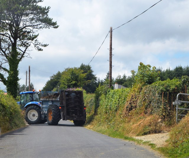 Rural traffic jam
